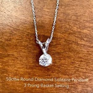 Jewelry - Diamond Solitaire Pendant